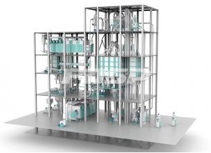 時産6-12 T双線膨張水産飼料生産ラ