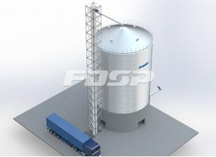 醸造業1-500 T高粱鋼板倉庫工事